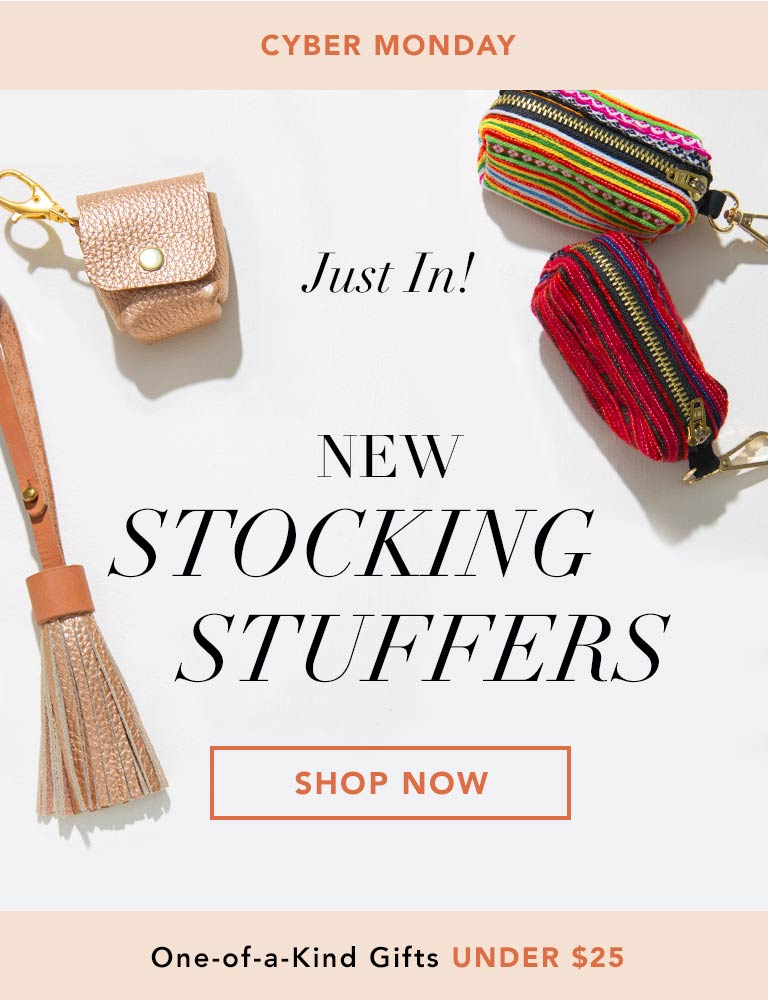 Fair Trade Stocking Stuffers and Gifts