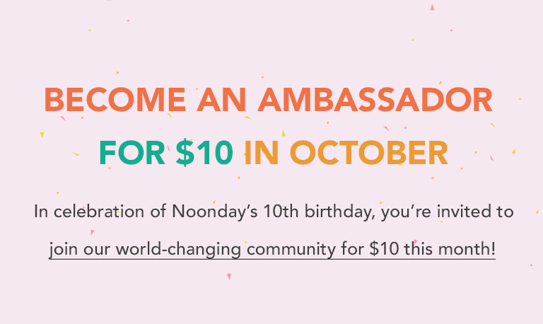 Join for only $10 in October