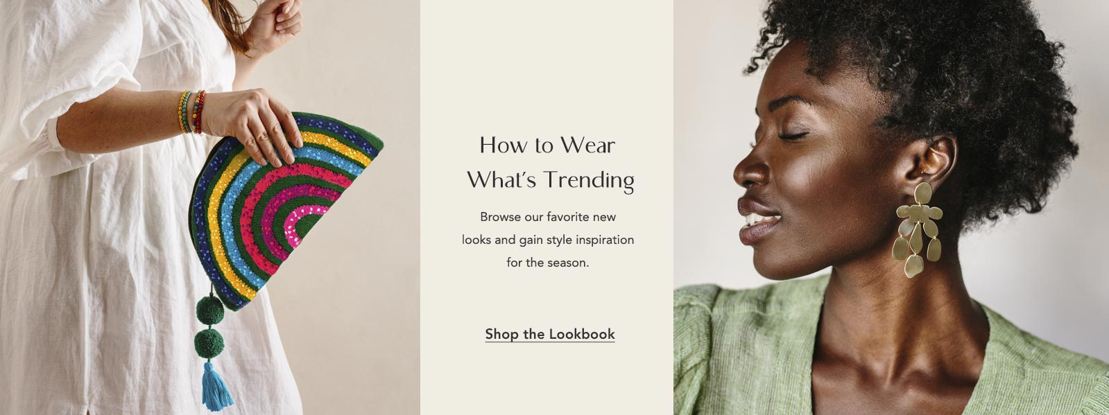 Shop the Spring 2021 Fair Trade Hand Made Lookbook
