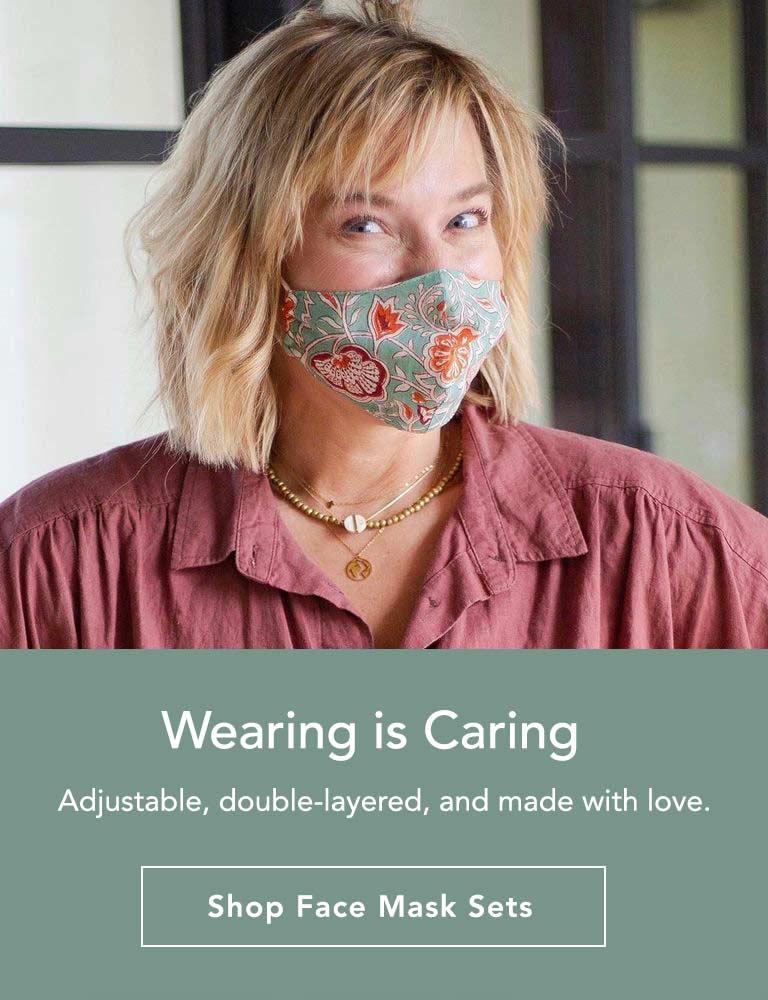 Fair Trade Hand Made Face Mask