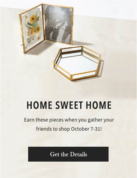 Host a Trunk Show in October to earn new pieces for FREE. Get the Details